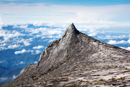 views of the mountains: Mount Kinabalu in Sabah, East Malaysia.