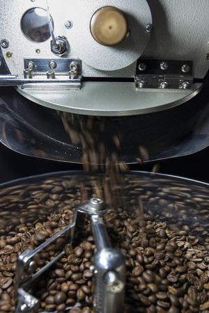 brew house: Coffee bean roasting