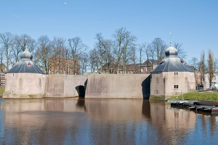spaniards: A view at Spaniards hole (Spanjaardsgat) in Breda, Netherlands