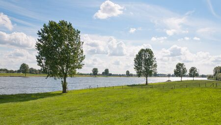 Along the riverside in the Netherlands Stock Photo - 9885598