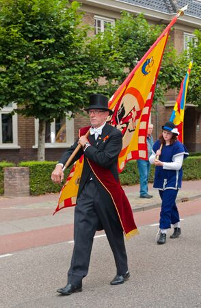 Terheijden, North-Brabant, Netherlands, August 28, 2011,  Guild festival in the Dutch village of Terheijden Stock Photo - 10573155