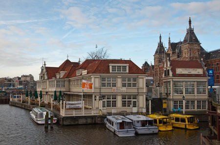 Amsterdam. North-Holland, Netherlands - January 21, 2012 - The  Stock Photo - 12690613