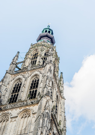 The Grote Kerk or Onze-Lieve-Vrouwekerk (Church of Our Lady) is the most important monument and a landmark of Breda. The church is built in the Brabantine Gothic style and the tower is 97 meters tall.