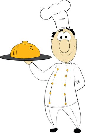 Fun cartoon chef   Stock Vector - 16188660