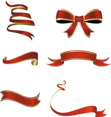 ribbons: Christmas ribbon