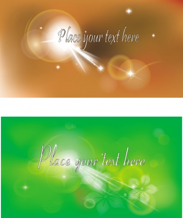 Abstract backgrounds  Can be useas banner, design element   Illustration
