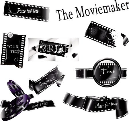 Original movie bframes  Can be use as background, banner, decoration element, price-tags   Illustration