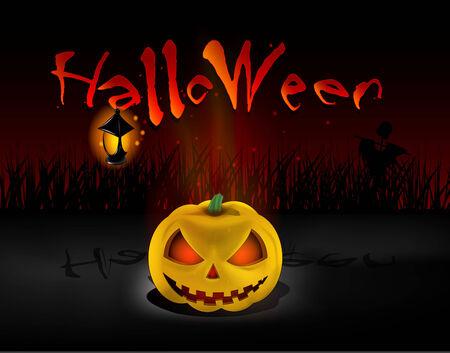 Hallowenn background  Vector
