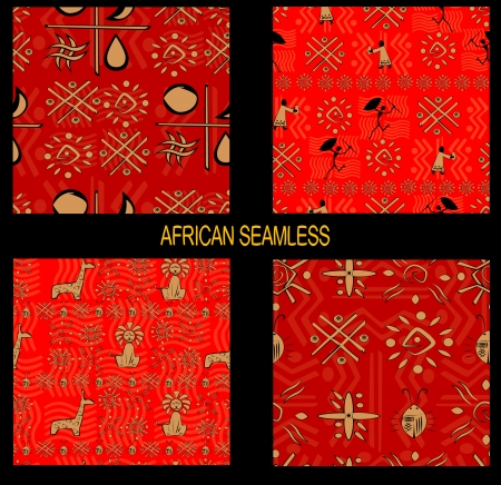 Native pattern seamless  vector Illustration