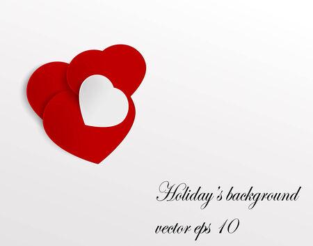 Romantic background  Vector eps 10 Illustration