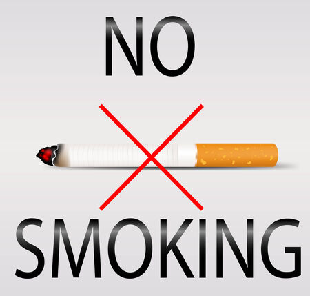 No smoking. Vector eps10 Vector