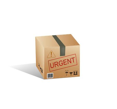 Delivery box. Vector eps 10 Vector