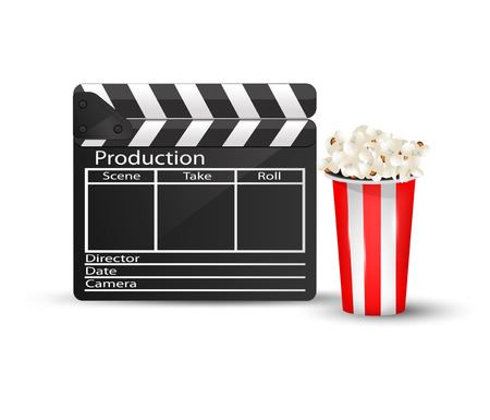 Cinema icon. Vector eps10 Illustration
