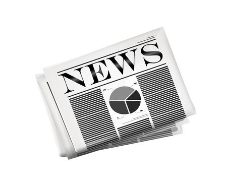 Newspaper icon. Vector eps10 Stock Vector - 29083792