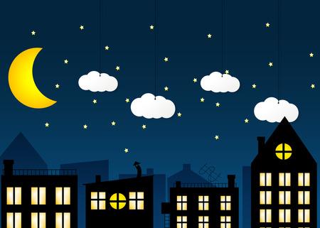 moon  metropolis: Night city