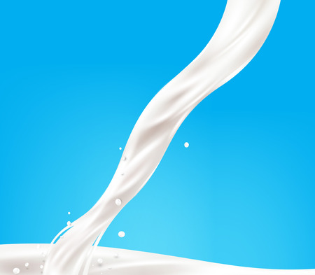 Milk background