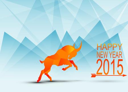 New year background Illustration