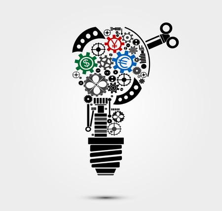 Business idea icon.