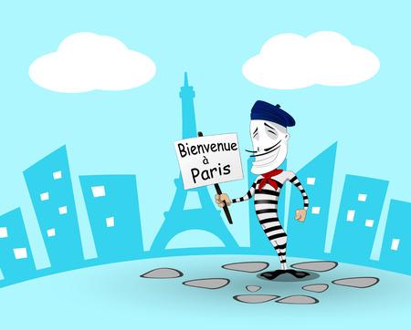 mime: Cartoon mime