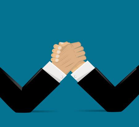 反対: ビジネス概念の反対