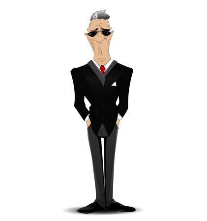doubtful: Businessman Illustration