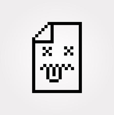 Vector Error Icon Illustration