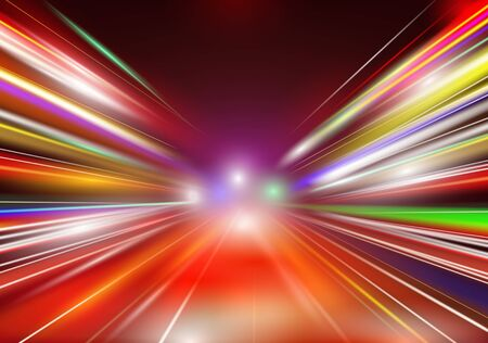 Abstract image of speed motion