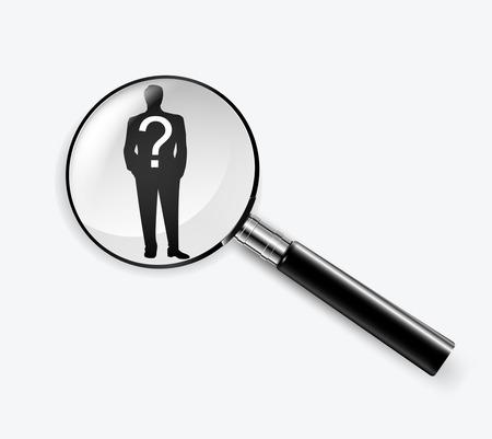 headhunter: headhunter human resources concepts.