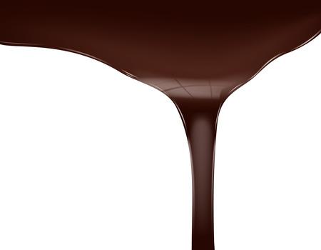 Chocolate flow Reklamní fotografie - 41512506