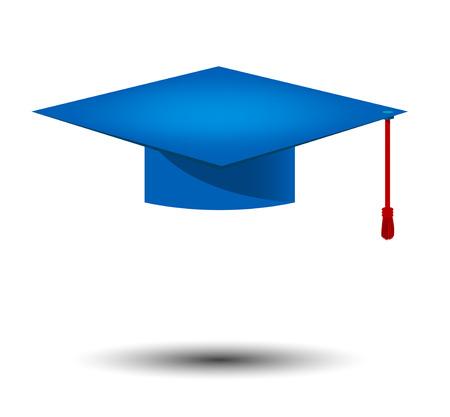 graduate cap icon. Vector 10 Illustration