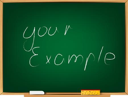 School board. Vector