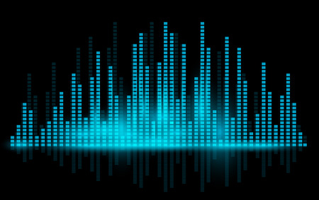 Equalizer background. Vector