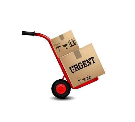 Delivery service icon. Vector   Illusztráció