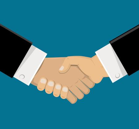 Shaking hands. Vector   Illustration