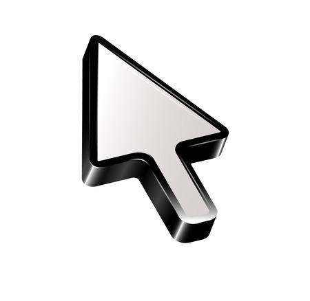 help section: Arrow. Vector   Illustration