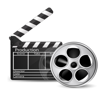 Cinema icon. Vector  Illustration
