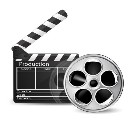 cinematograph: Icono de Cine. Vector
