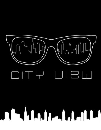 City skyline concept vector illustration