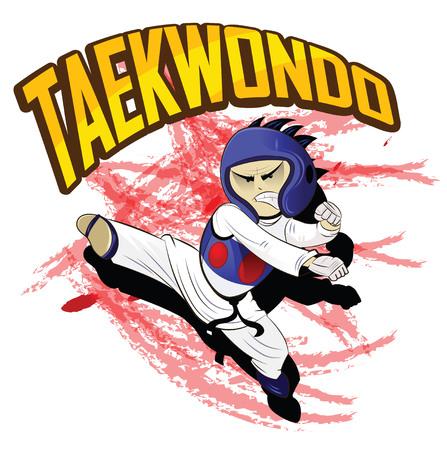 Taekwondo. Martial art