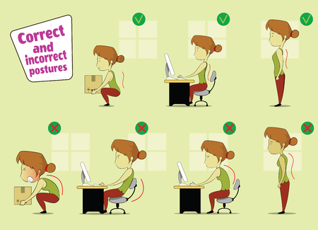 child sitting: Posture to sit