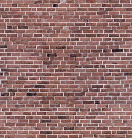 Texture de mur de couleur aléatoire de brique rouge transparente pour loft