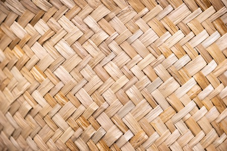 Wicker rattan texture Banco de Imagens