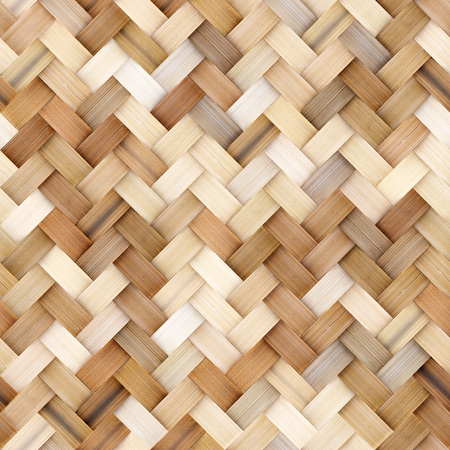 Wicker Rattan nahtlose Textur für CG