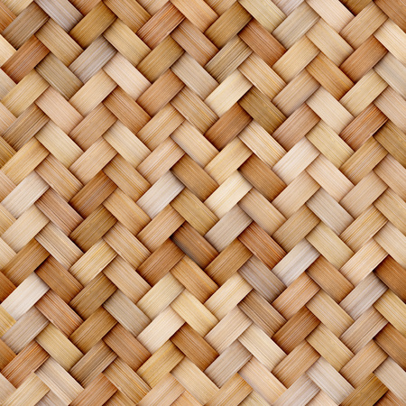 Wicker rattan seamless texture background for CG 写真素材 - 114833731