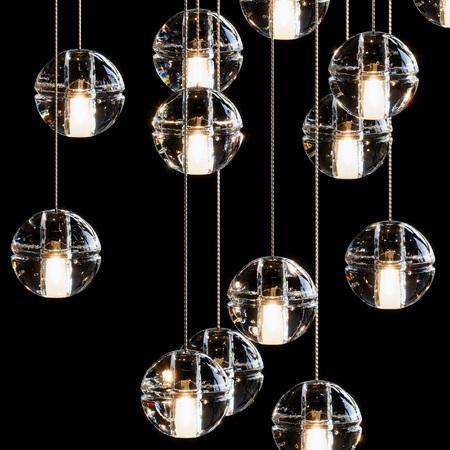 Many lights on sphere lamp