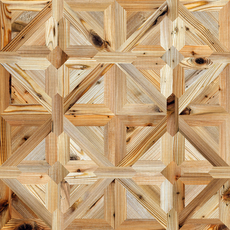 Classic pattern parquet of natural wood seamless texture Reklamní fotografie