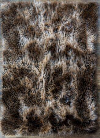 Tapis de fourrure texture naturelle haute résolution