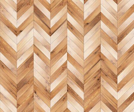 Chevron natural parquet seamless floor texture