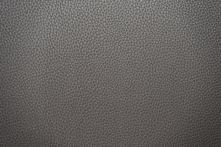 Leather grey hi-res macro texture Stock Photo