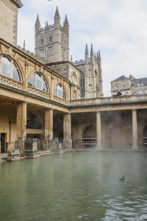 Ancient Roman Baths, Bath, Somerset, England